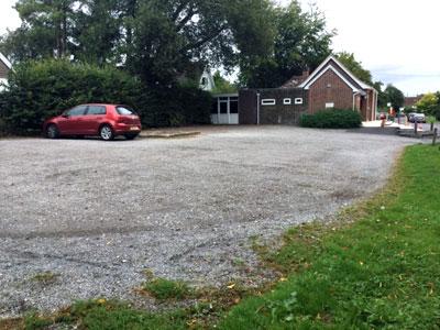 Old Alresford Village Hall car park